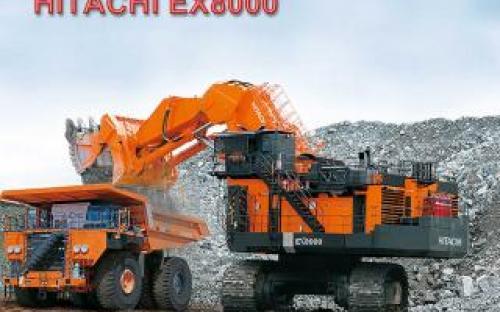 Карьерный экскаватор Hitachi EX8000